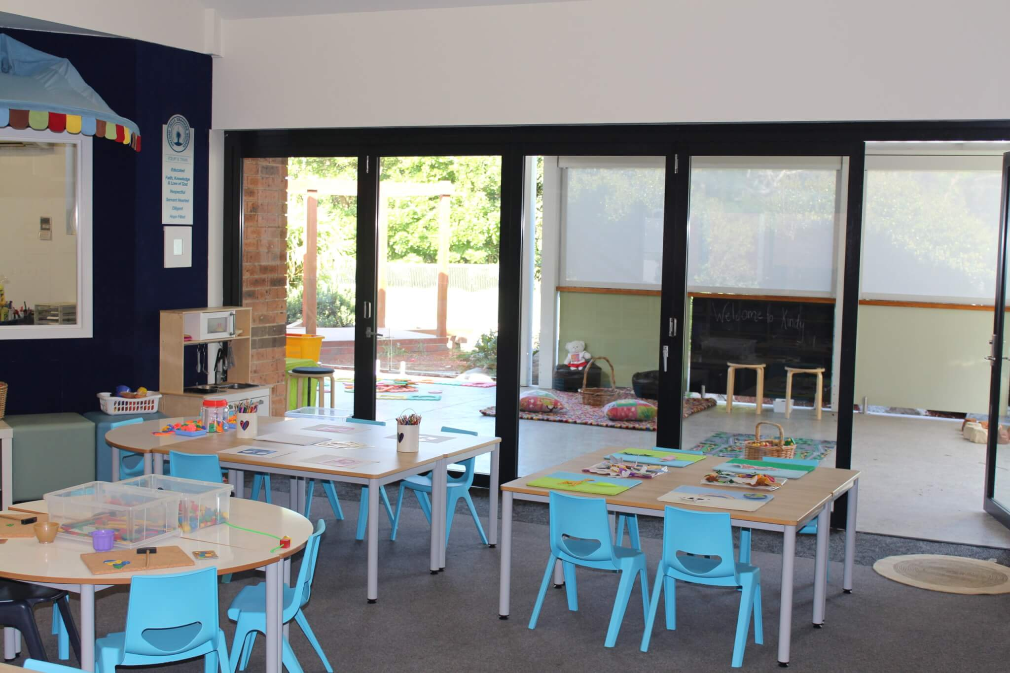 New Flexible Kindy learning spaces