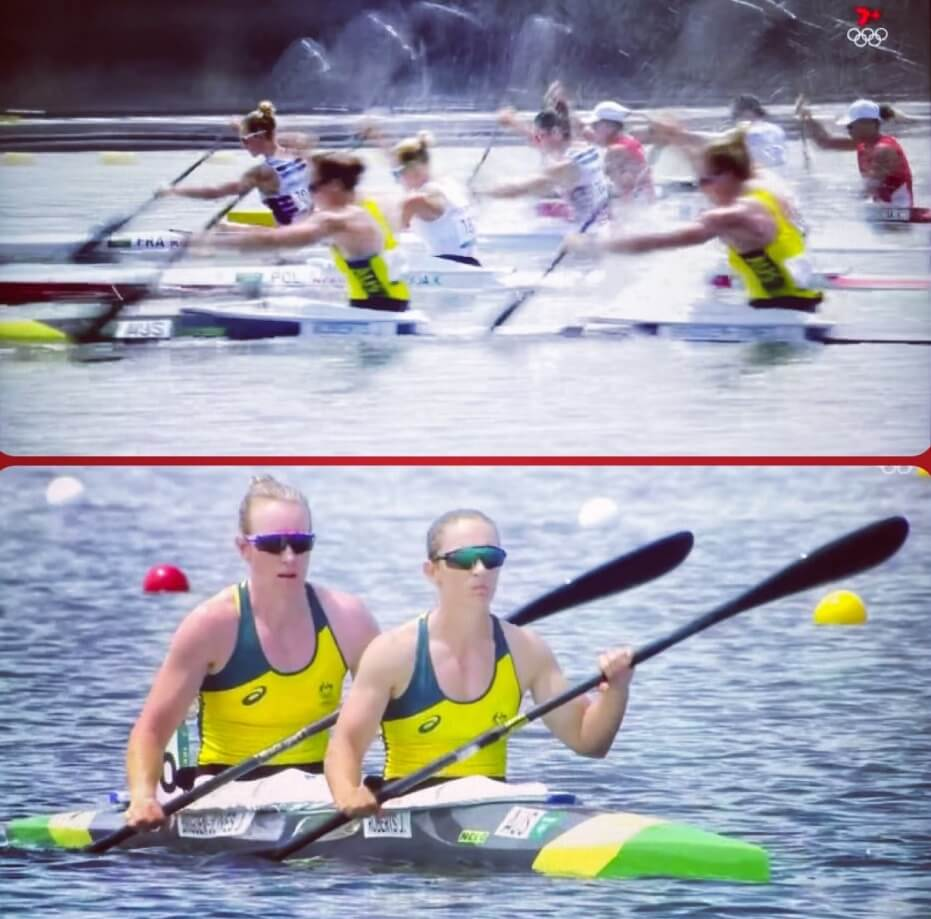 More Olympic congratulations to Jo Brigden and Anneliese Rubie-Renshaw